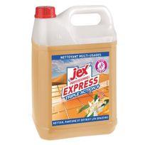 Jex - Nettoyant parfumé Express orange - Bidon de 5 litres
