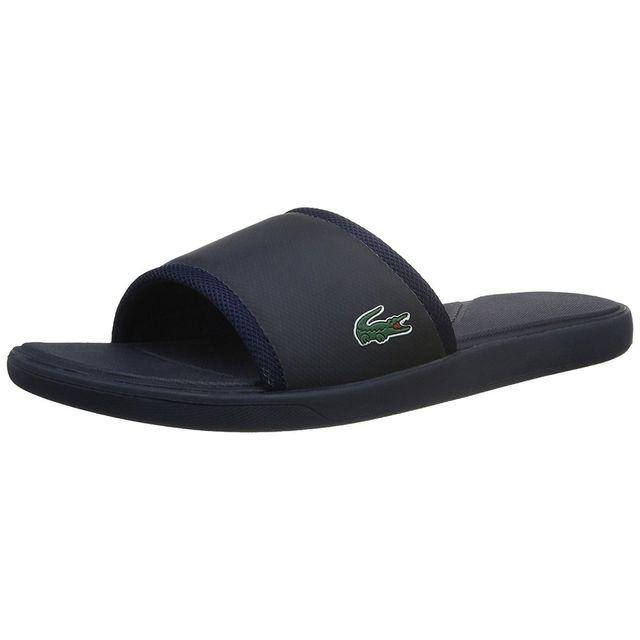 ebeaf9829bb Lacoste - Sandale L.30 Slide Sport - 731SPM2169003 - pas cher Achat   Vente  Sandales et tongs homme - RueDuCommerce
