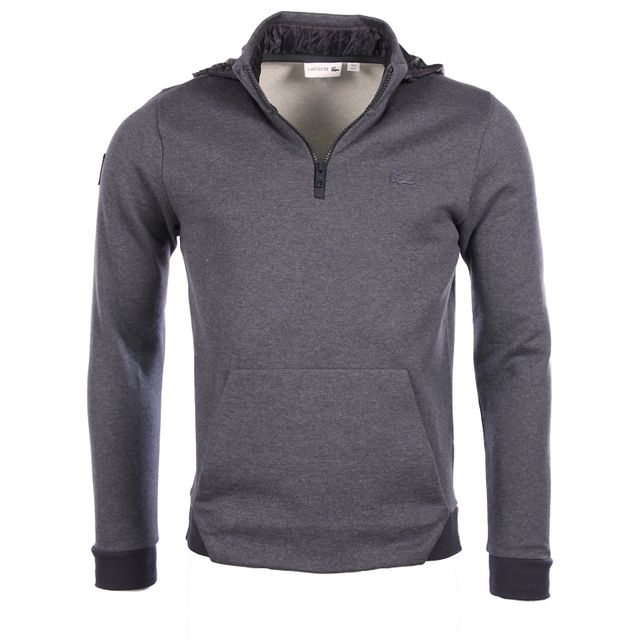 Sport Sh9612 Cosmos Gris Sweatshirt D'hiver Serie Lacoste Homme gEwqAwU