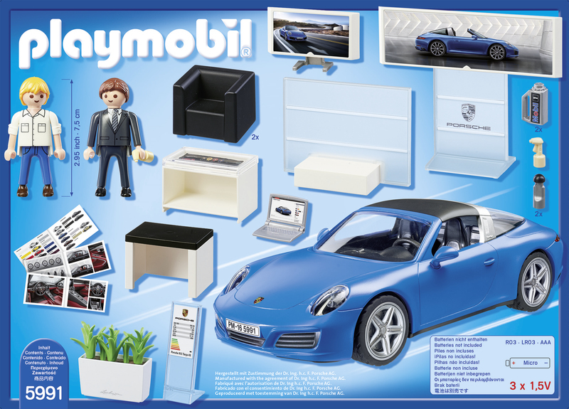 playmobil porsche 911 targa 4s 5991 pas cher achat vente playmobil rueducommerce. Black Bedroom Furniture Sets. Home Design Ideas