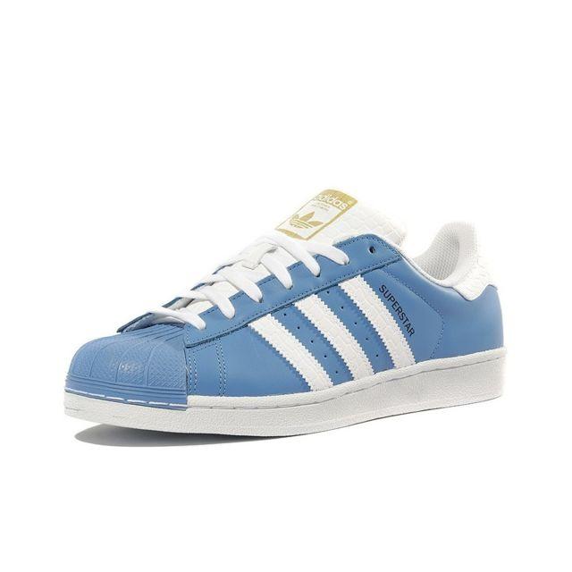 adidas femme superstar bleu