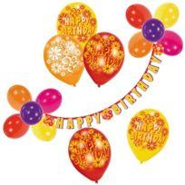 Riethmüller - RiethmÜLLER Set 450006-DEKO-HAPPY Birthday Guirlande Et Ballons