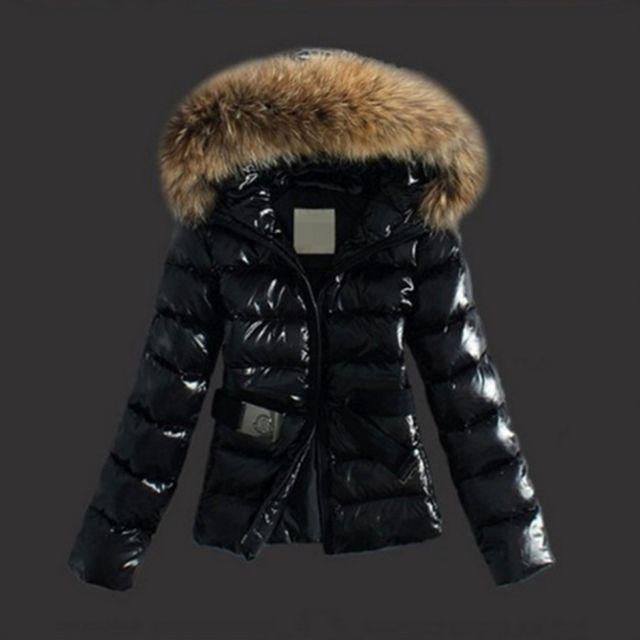 taille 40 35375 f524f Wewoo - Vestes et manteaux Femme noir Femmes Hiver Élégant ...
