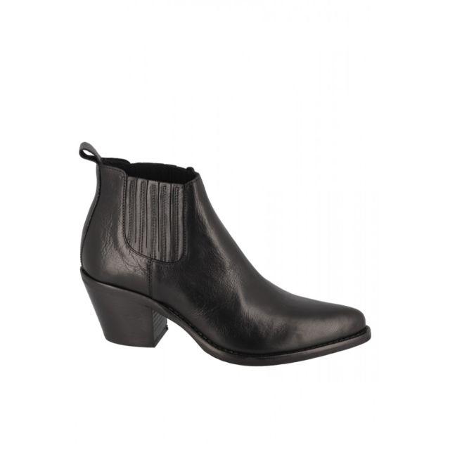 cm élastique Boots la pas talon à Semerdjian 6 cheville vYbgymIf67