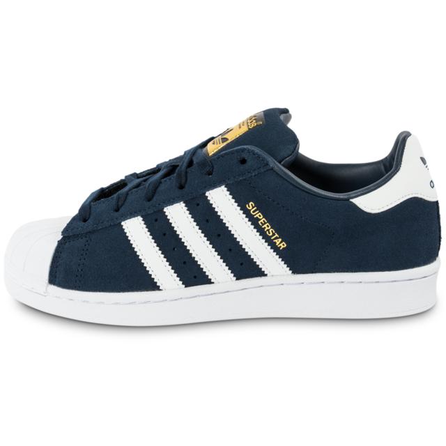 Adidas originals Superstar Suede Bleu Marine Baskets pas