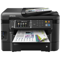 EPSON - Imprimante multifonction 4-en-1 WORKFORCE WF-3640DTWF