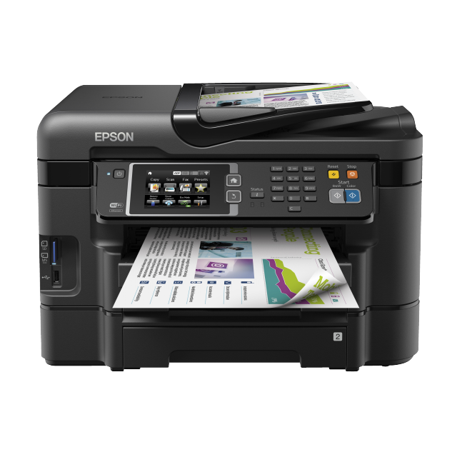 EPSON Imprimante multifonction 4-en-1 WORKFORCE WF-3640DTWF