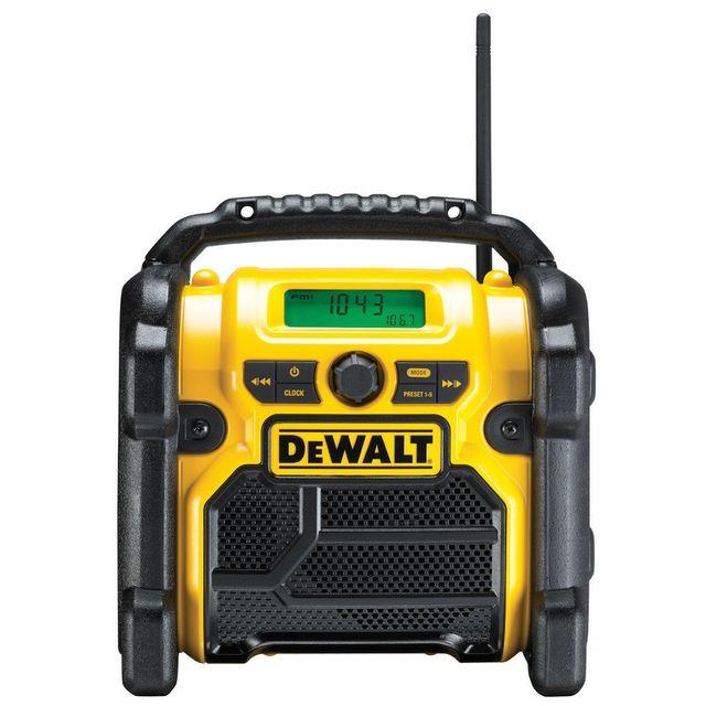 Dewalt - DCR019 XR Compact FM AM Radio de Chantier Alimentation Secteur ou Accu