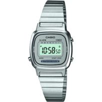 Casio - Promo Montre Acier Collection La670WEA-7EF - Femme