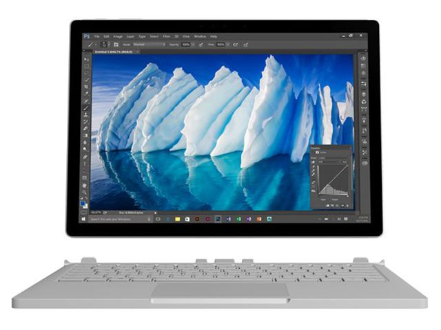 MICROSOFT Surface Book - 1 To - Intel Core i7 - Argent