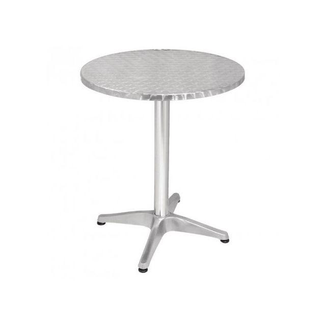 Materiel Chr Pro Table bistro ronde Bolero 600 mm - Inox