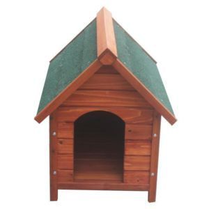 poils plumes chien poils plumes niche salto s en bois 54x77x66 5 cm pour chien pas. Black Bedroom Furniture Sets. Home Design Ideas