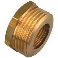 Raccords - Reduction concentrique 6 pans Mâle / Femelle Filetage 12 x 17mm 8 x 13mm Par1