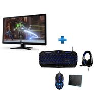 ACER - Ecran G246HLGBID + Pack THE G-LAB COMBO300/FR