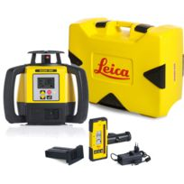 LEICA - LASER Rugby 680 avec coffret avec batterie Li-ion et cellule de réception Rod Eye 140- 6006008