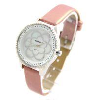 Comely - Montre Femme Bracelet Cuir Lila 403