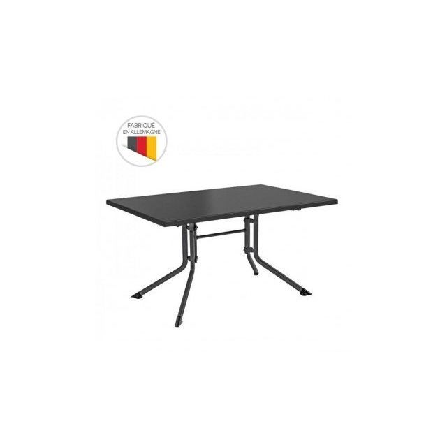 Kettler - Table de jardin pliante Advantage 140 x 95 x 74 cm ...