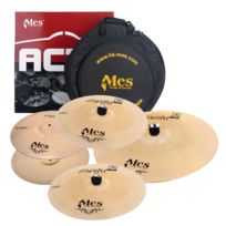 "Mes - Act Series Cymbales Perfomance Set 14"" Crash 14"" Hh / 16"" Crash / 20"" Ride / 14"" Crash"