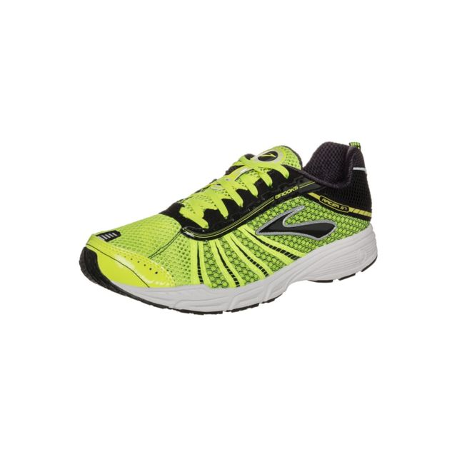 cheap for discount fb856 b5b01 Brooks - Racer St 5 Jaune Chaussures de competition - pas cher Achat   Vente Chaussures running - RueDuCommerce