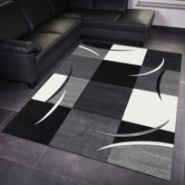 DEZENCO - Tapis de Salon Moderne Design DIAMOND COMMA