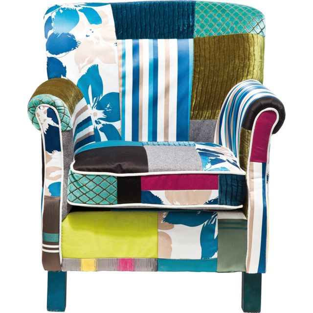 Karedesign Fauteuil Patchwork Stripes Kare Design