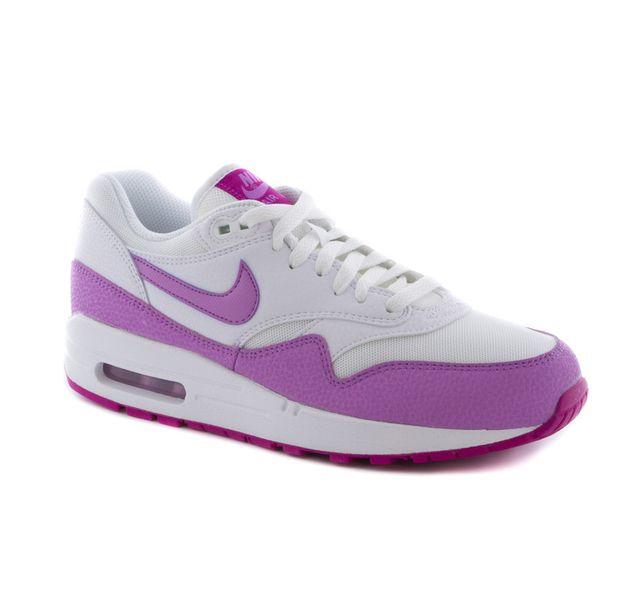 promo code 76991 56555 Nike - wmns air max 1 essential white fuschia 599820 116 - pas cher Achat    Vente Baskets femme - RueDuCommerce