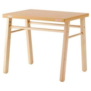 Combelle - Table vernie naturel