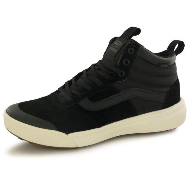 Vans Baskets Ultrarange Hi Montante Noir pas cher Achat