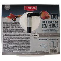 Tyrol - Bidon Pliable en Plastique pour Eau Osmosée - 10L