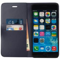 Mocca Design - Etui Folio Porte Cartes Marine Iphone 6 Plus