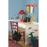 Mon Beau Tapis - Stickers Illustrations Dinosaures Roommates Repositionnables 16 stickers