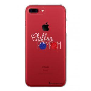 coque iphone 8 pompom