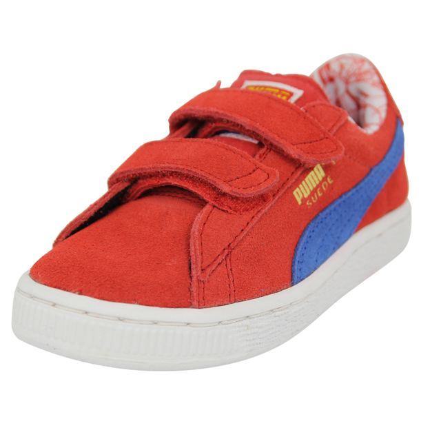 01ecc39e14704 Puma - Puma Superman Suede V Inf Chaussures Mode Sneakers Enfant Cuir Suede