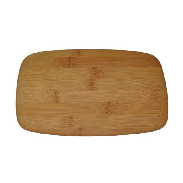 Pebbly Kitchen Planche à découper et à servir bambou - 23 x 15 cm