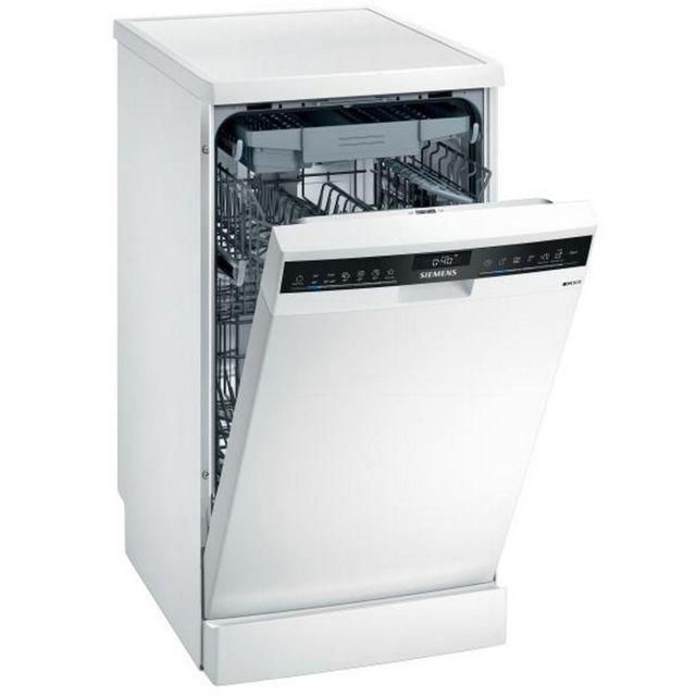 SIEMENS lave-vaisselle 45cm 10c 45db a++ pose-libre inox - sr23hw65me