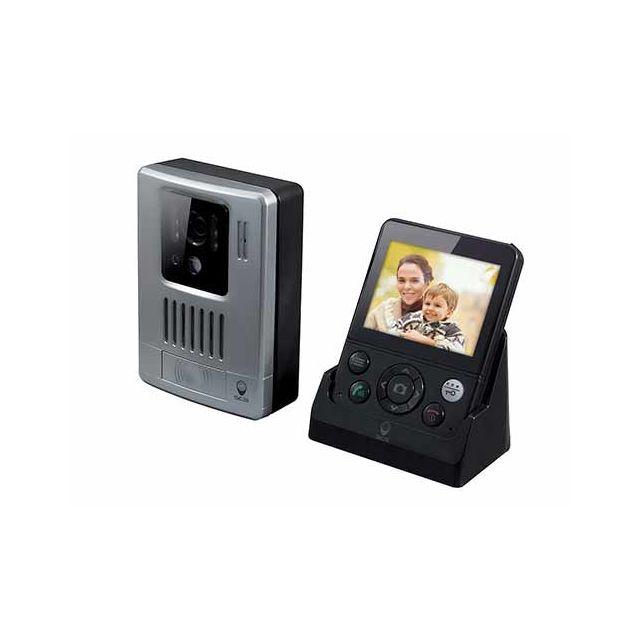 scs sentinel interphone vid o sans fil 200m wdp 200 wdp 200 pas cher achat vente. Black Bedroom Furniture Sets. Home Design Ideas
