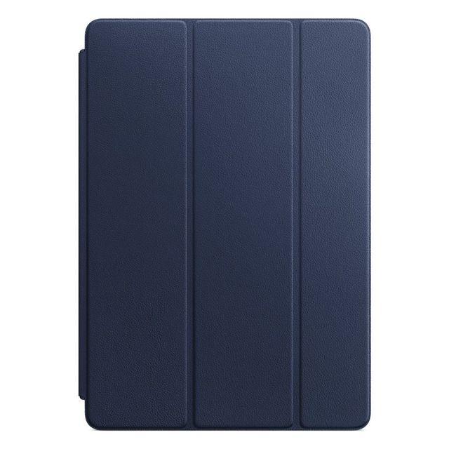 APPLE iPad Pro 10,5 Leather Smart Cover - Bleu nuit - MPUA2ZM/A