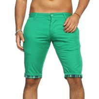 Rerock - Bermuda tendance homme Bermuda 302 vert