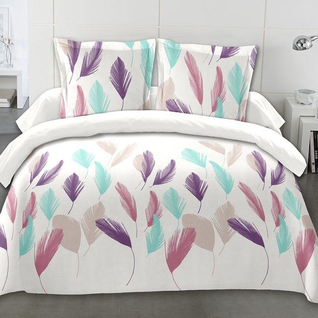 marque generique couette imprim e 220x240 cm grandes plumes pas cher achat vente couettes. Black Bedroom Furniture Sets. Home Design Ideas