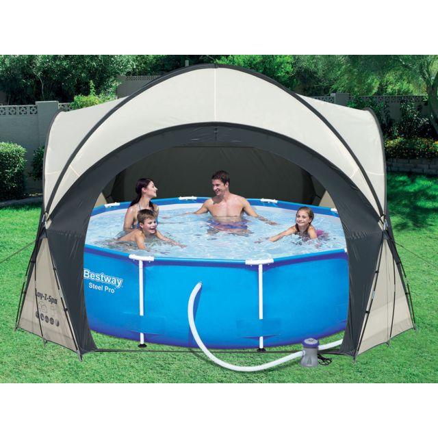 bestway dome pour lay z spa et piscine l 390 x l 390 x. Black Bedroom Furniture Sets. Home Design Ideas
