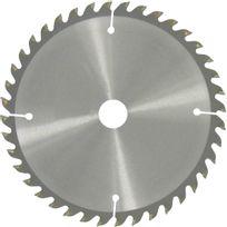 Scid - Lame au carbure pour scie circulaire - Ep. 2,8 mm - 40 dents - Diam. 160 mm - Alésage 20 ou 16 mm