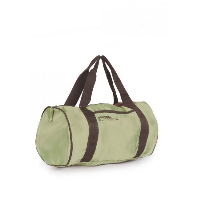 BENSIMON Sac de voyage Color Bag vert pistache Idéal pour un sac week-end ou un sac de sport !