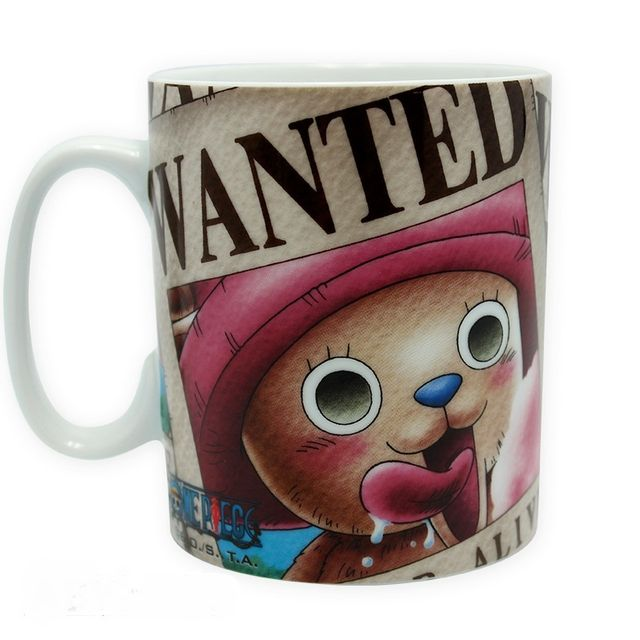 One Piece Mug Chopper Wanted 460 ml