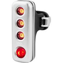 Knog - Blinder Road R70 - Éclairage vélo - 1 Led rouge standard argent