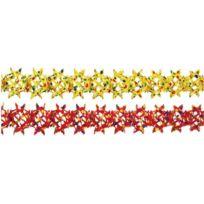 Riethmüller - RiethmÜLLER 2810-GUIRLANDE De Confettis 16 Cm X 4 M, Difficilement Inflammable ROUGE/JAUNE