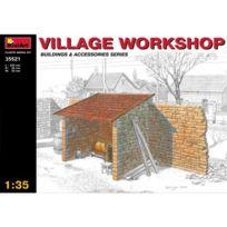 Mini Art - Maquette Ruines de guerre : Atelier de village