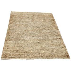 Vivabita - Tapis naturel camel en jute plat beige Pure 160 - 230