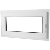Rocambolesk - Superbe Fenêtre oscillo-battante en Pvc avec poignée à droite 1 000 x 600 mm Neuf