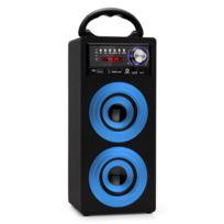 Beatfoxx - Beachside Bluetooth haut-parleur portable Usb, Sd, Aux, Ukw/MW bleu