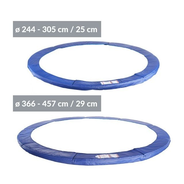 Physionics - Accessoire pour trampoline - coussin de protection Ø 396 cm